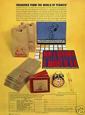 1971 Treasures From The World Of Peanuts Print Ad