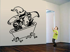 NIGHTMARE BEFORE CHRISTMAS OOGIE BOOGIE WALL DECAL
