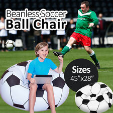 """BESTWAY 45"""" Beanless Soccer Ball Chair Sofa Seat Couch"""