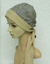 Chemo head wear for women, head scarf for hair loss, head snood, tichel