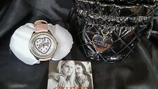 womens GUESS PINK HEART watch new with tags