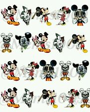 Mickey Mouse Nail decals water decals Zombie nail decals