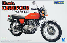 Aoshima Naked Bike 15 Honda CB400 Four 1974 Model 1/12 scale kit