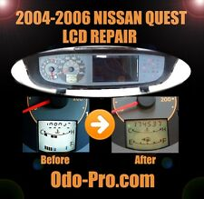 NISSAN QUEST Instrument Cluster / Speedometer LCD Display Screen REPAIR SERVICE