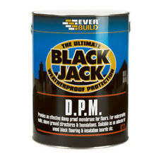 Everbuild 908 Black Jack DPM Liquid Damp Proof Membrane For Floors - 5L