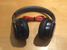Authentic Beats by Dr. Dre Solo2 Wired Headphones - Black - Good Condition