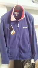 ladies regatta fleece jacket size 14 Navy