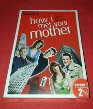 Coffret DVD How I Met Your Mother Saison 2