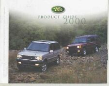 2000 Land Rover Discovery & Range Rover County Vitesse Brochure ws4953-ATXLX8