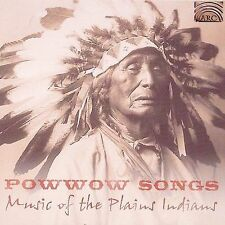 POWWOW SONGS - MUSIC OF THE PLAINS INDIANS - NEW CD