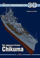 Super Drawings In 3D: The Japanese Cruiser Chikuma 34 by Waldemar Goralski...