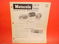 1954 1955 1956 DODGE PICKUP TRUCK MOTOROLA 6 VOLT AM RADIO SERVICE SHOP MANUAL