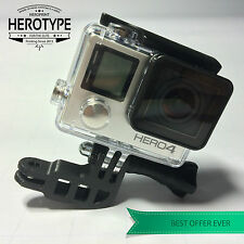 HEROType L ( 90°) Elbow Halterung Gopro Mount Corner Helm Helmet Bike Car Auto