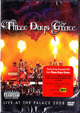 Three Days Grace - Live At The Palace 2008 (DVD, 2008, Explicit) New