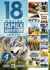 18 Movies Family Adventure Collection DVD 2014 (BRAND NEW)