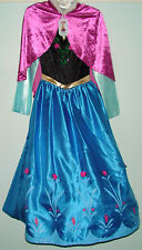 New Disney Store Anna from Frozen Costume for Kids, Age 11-12
