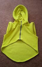 Cyberdog Sailor Fleece Hoodie UV Neon Rave Glow