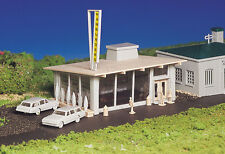 Bachmann Plasticville H O Building Kit Drive-In Hamburger Stand 45434  NEW