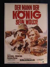 laminiertes Filmplakatmotiv als DVD-Cover :  Der Mann der König sein wollte