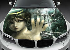 Broken Angel Full Color Graphics Adhesive Vinyl Sticker Fit any Car Hood #019