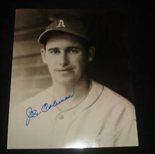 Joe Coleman 1942 Philadelphia Athletics Signed 8X10 Photo JSA Certified Auto JB