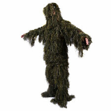 Ghillie Suit XL/XXL Camo Woodland Camouflage Forest Hunting 5-Piece + Bag