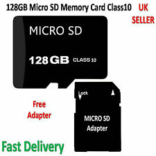 128GB Micro SD Memory Card TF Flash Class10 Free Adapter For All Mobile & Camera