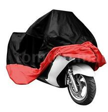 XL Motorcycle Bike Moped Scooter Cover Rain Waterproof UV Protection Black A4O6