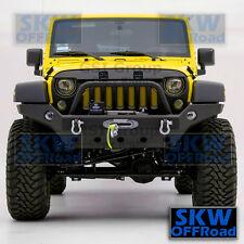 07-16 Jeep JK Wrangler Rock Crawler Full Width Front Bumper W/OE Fog Light Hole