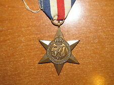 WW2 British Canadian Medal France and Germany Star nice