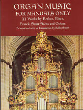 Organ Music For Manuals Learn to Play Classical Keyboard Music Book