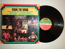LP SOUL TO SOUL Roberta Flack, Wilson Pickett, Ike Tina Turner ATLANTIC 40 290 µ
