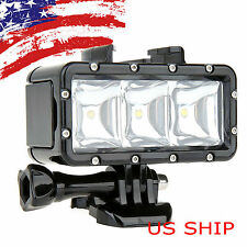 Diving Underwater Waterproof Video Light  Flash Light f Gopro Hero 4 3+3 SJ4000