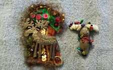Ugly Holiday Christmas Moose Pins~ You Know Someone Who Needs These!