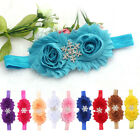 2015 Hot Cute Hairband Babys Headbands Girls Rag Flower Snowflake Shape On Sale