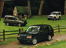 BIG 1997 Land Rover DISCOVERY Brochure / Catalog w/Color Chart: SD,SE,SE7