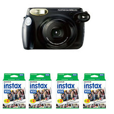 Fuji Fujifilm Instax 210 Wide Instant Film Camera, Black + 80 Prints