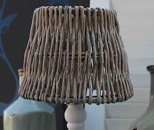 Light & Living *  Rattanschirm * Landhausstil * 20 x 15 x 14 cm