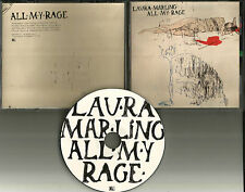 Noah and the Whale LAURA MARLING All My Rage 2011 USA PROMO Radio DJ CD Single