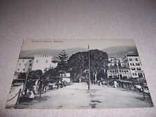 1910s STREET VIEW DOWNTOWN FUNCHAL MADEIRA PORTUGAL ANTIQUE POSTCARD