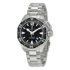 Hamilton Khaki Navy Frogman Automatic Black Dial Mens Watch H77605135