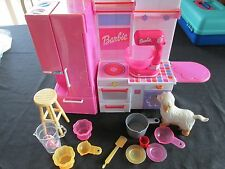 Rare Barbie Kitchen with Stand Mixer, Fridge, Oven and Accessories