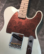 Faux Copper Paisley Custom Bakelite Pickguard Fender® Telecaster® Esquire®