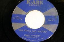 Jimmy Dawson: Big Black Bug Boogie / Mean Woman Blues  [VG++ Copy]