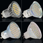 6W Led Bulbs GU10 MR16 60SMD Dimmable Non-dimmable Spotlight Day/Warm White UK