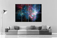 GALAXIE ESPACE GALAXY Wall Art Poster Grand format A0 Large Print