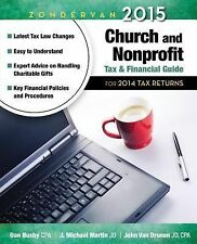 Zondervan 2015 Church and Nonprofit Tax and Financial Guide: For 2014 -ExLibrary