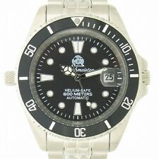 Tauchmeister Sub diver WR 60bar automatic watch Germany T0098