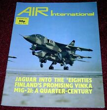 Air International 1979 December Valmet Vinka,Helldiver,Jaguar,Mig-21