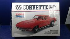 VINTAGE MONOGRAM 1/8 Scale Model Car Kit - 65' Corvette Sting Ray - #2600 - NIB